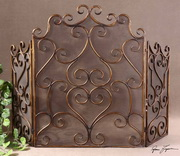 Kora Metal Fireplace Screen  - LUT8259