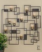 Siam Metal Candlelight Wall Sculpture  - LUT8270