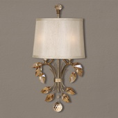 Alenya 2 Light Gold Wall Sconce - LUT7278