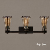 Frisco 3 Light Rustic Vanity Strip - LUT7287