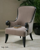 Kandy Taupe ArmChair  - LUT7636