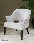 Leisa White ArmChair  - LUT7637