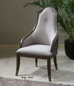 Sylvana Gray Accent Chair  - LUT7681
