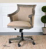 Kimalina Linen Accent Chair  - LUT7691