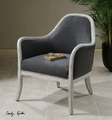 Dayla Indigo Accent Chair  - LUT7697