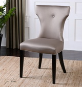 Wynter Satin Armless Chair - LUT1767