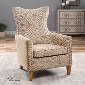 Kiango Animal Pattern Armchair - LUT1783