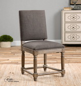 Laurens Gray Accent Chair - LUT1795