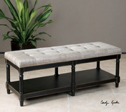 Serafino Tufted Bench - LUT1817