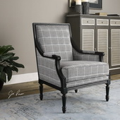 Scott Wood Frame Armchair - LUT1829