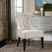 Arlette Tufted Wing Chair - LUT1837