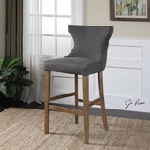 Gamlin Gray Bar Stool - LUT1847