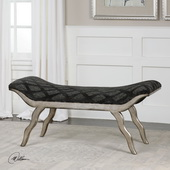 Ayden Pewter Bench - LUT5565