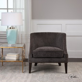 Suzuka Geometric Accent Chair - LUT5571