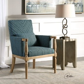 Seamore Pattern Armchair - LUT5581