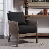 Encore Dark Gray Armchair - LUT5587