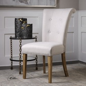 Lucasse Oatmeal Dining Chair - LUT5601