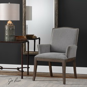 Lantry Stony Gray Accent Chair - LUT5603