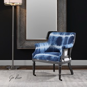 Royal Cobalt Blue Accent Chair - LUT5611