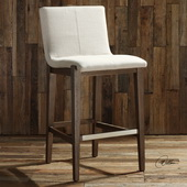 Klemens Linen Bar Stool - LUT5617