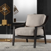 Lyle Beige Accent Chair - LUT5621