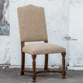 Pierson Textured Linen Accent Chair  - LUT7723