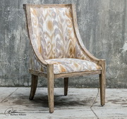 Alabaster Driftwood Accent Chair - LUT1889