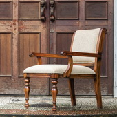 Danek Honey Stained Armchair - LUT1905