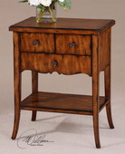 Carmel Wood End Table  - LUT7726