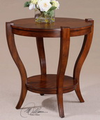 Bergman Round End Table  - LUT7727