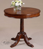 Brakefield Pecan Round Table  - LUT7728