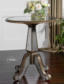 Eraman Mirrored Accent Table  - LUT7743
