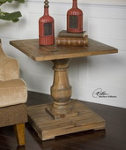 Stratford Pedestal End Table  - LUT7753