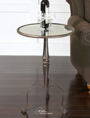 Anais Mirrored Accent Table  - LUT7760