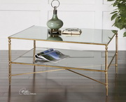 Henzler Mirrored Glass Coffee Table  - LUT7762