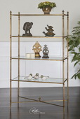 Henzler Mirrored Glass Etagere  - LUT7763