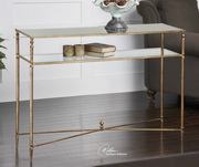 Henzler Mirrored Glass Console Table  - LUT7764
