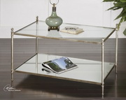 Gannon Mirrored Glass Coffee Table  - LUT7765