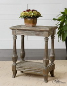Mardonio Distressed Side Table  - LUT7769