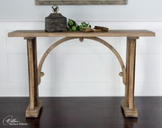 Genessis Reclaimed Wood Console Table  - LUT7772