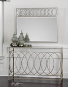 Aniya Glass Top Console Table  - LUT7775