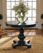 Brynmore Wood Grain Round Table  - LUT7779
