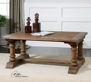 Saturia Wooden Coffee Table  - LUT7808