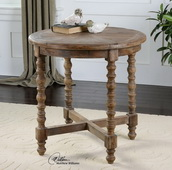 Samuelle Wooden End Table  - LUT7812