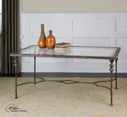 Quillon Glass Coffee Table  - LUT7828