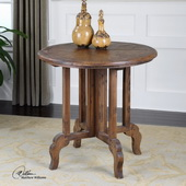 Imber Round Accent Table  - LUT7836