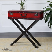 Taggart Red Console Table  - LUT7843