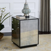 Matty Mirrored Side Table  - LUT7845