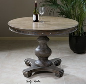 Sylvana Wood Round Table  - LUT7852