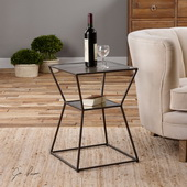 Auryon Iron Accent Table - LUT1963
